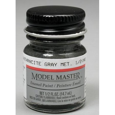 Testors Model Master Automotive Enamel Anthracite Gray Metallic by ., Ages: 12+ By Testor Corp Ship from US