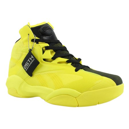 ca434f29e3f Reebok - Reebok Mens SHAQ ATTAQ MODERN Yellow Basketball Shoes Size 10 New  - Walmart.com