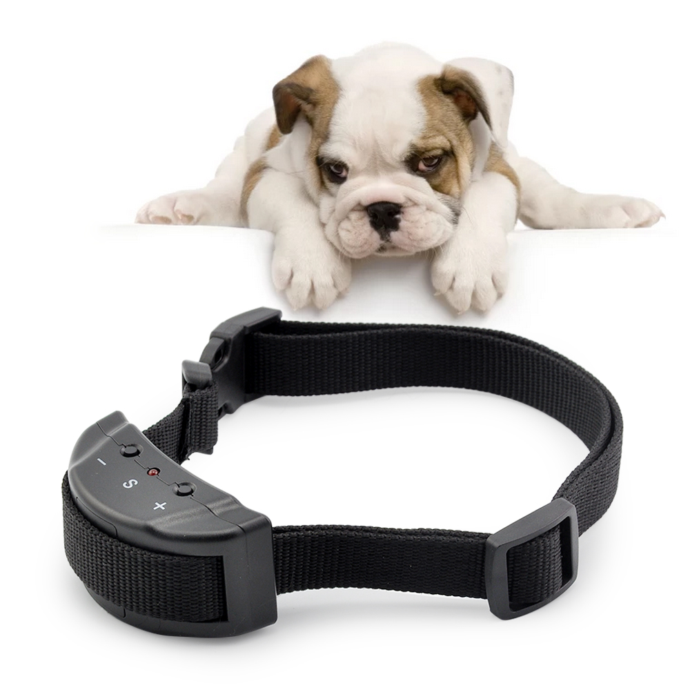 Petrainer Electric Anti Bark Collar No Barking Small Dog Pet Shock Training Collar by
