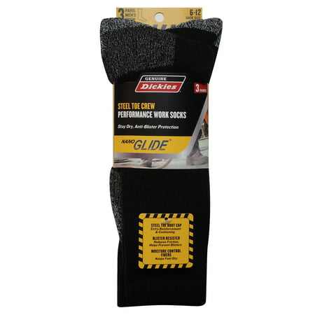 Dickies Blister Resister Crew Sock, 3-pack