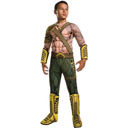 Batman Vs Superman: Dawn of Justice Deluxe Aquaman Child Halloween Costume - Diy Superman Halloween Costume