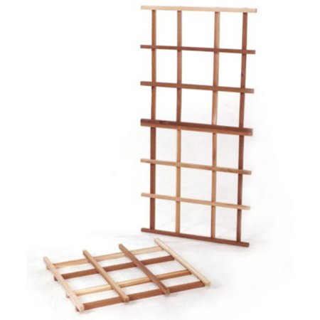 All Things Cedar Classic 1.75-ft. Cedar Wood Lattice Trellis Kit ()
