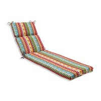 Indoor-Outdoor Cotrell Garden Chaise Lounge Cushion, Multicolored