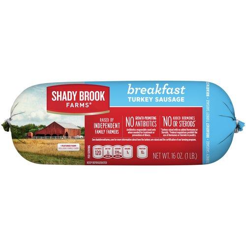 Shady Brook Farms Breakfast Turkey Sausage, 16 oz