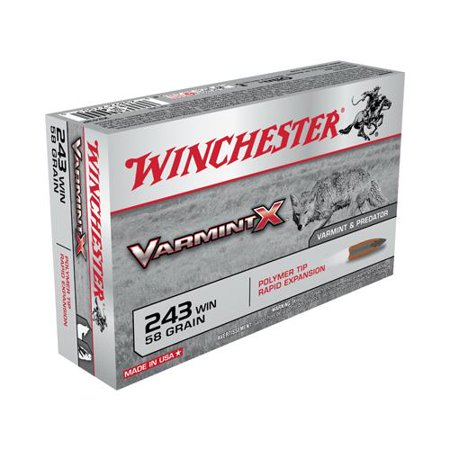 Winchester Ammunition X243P 20RND 243 Win RFL Ammo