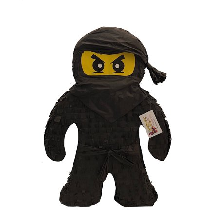 APINATA4U 2FT Tall Black Ninja Pinata for $<!---->