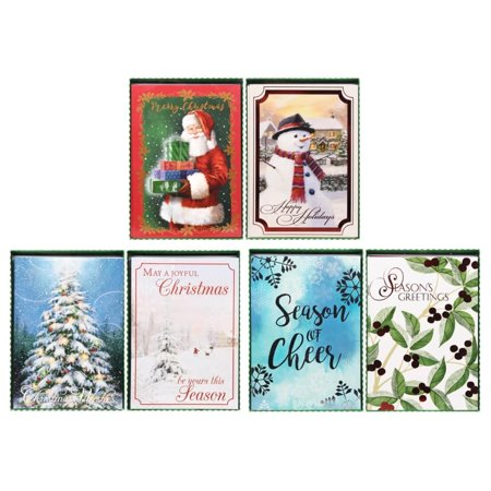Christmas Cards with Envelopes, 12-ct. Boxes ()