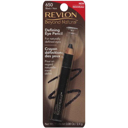 Revlon: 650 Black Beyond Natural Defining Eye Pencil, 0.08 oz