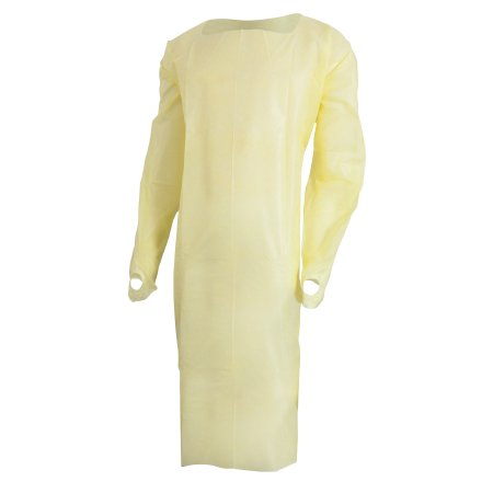 Over My Head Halloween (McKesson Over-the-Head Protective Procedure Gown  One Size Fits Most, Yellow, Unisex, NonSterile, Bag of)