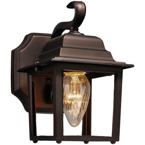 Hampton Wall Lantern, Outdoor Lighting, Oil Rubbed Bronze