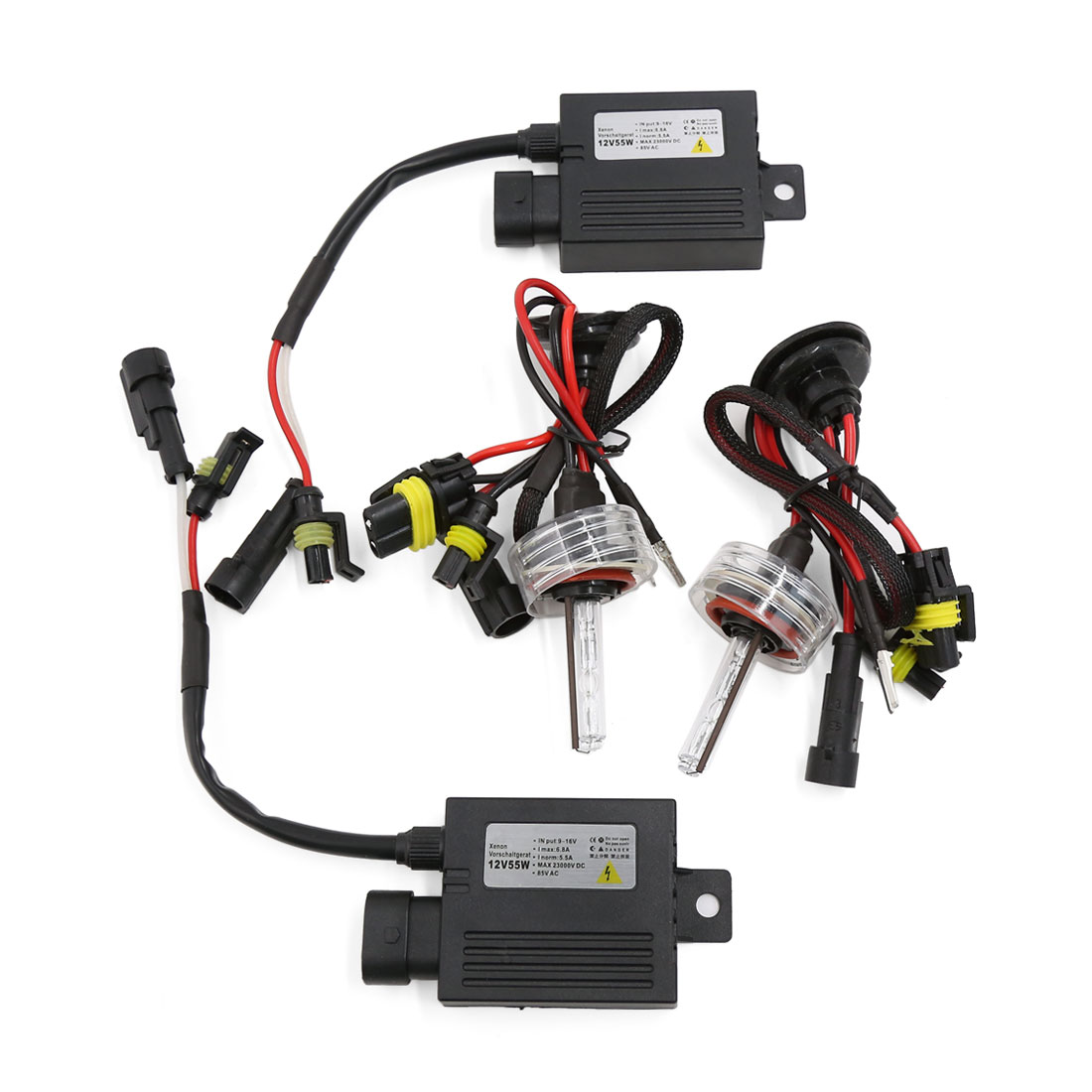 Car 55W 4300K H11 Single Beam HID Xenon Bulb Light Headlight Slim Conversion Kit
