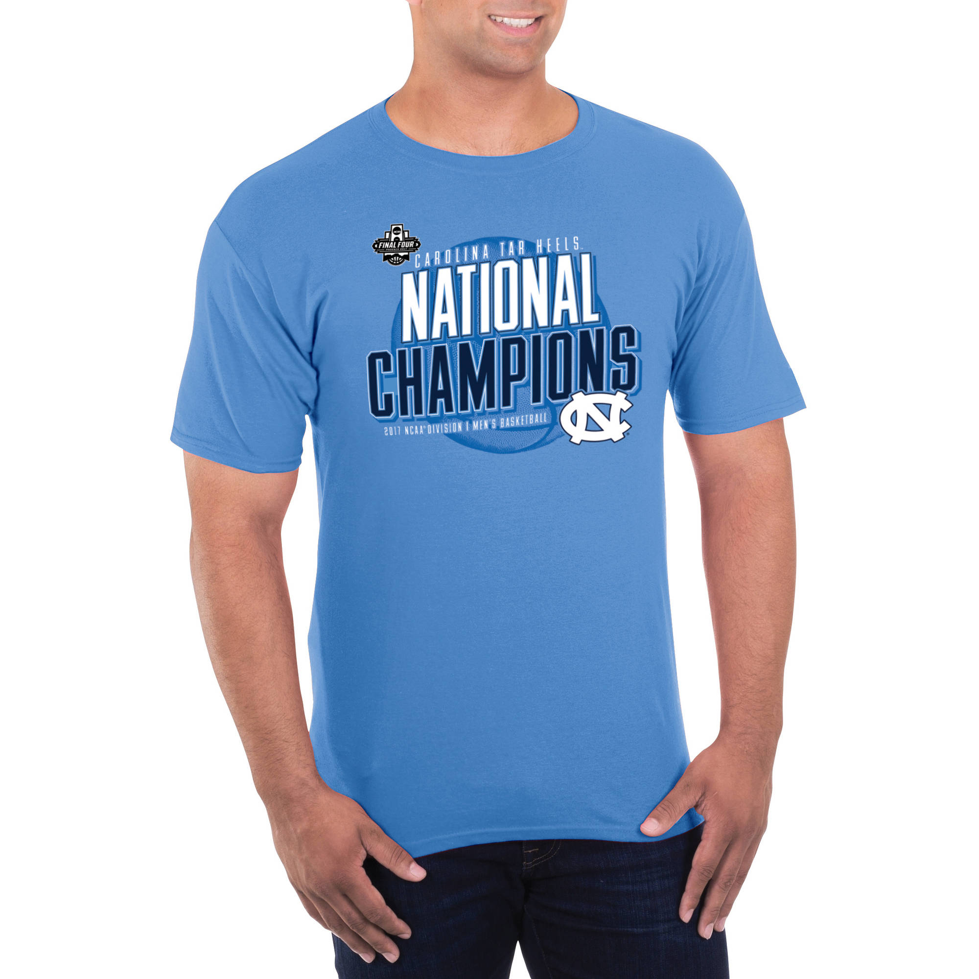 UNC Tar Heels, 2017 NCAA Men's Basketball Champions T-shirt