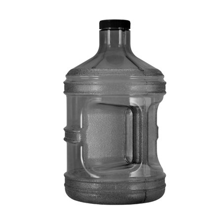 1 Gallon BPA FREE Reusable Plastic Water Bottle Jug Container ()