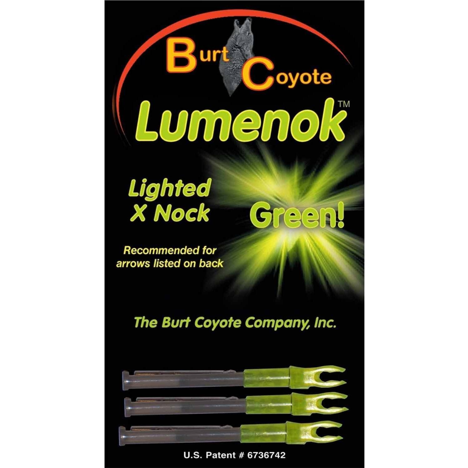 Lumenok X-Arrow Nock, 3-Pack
