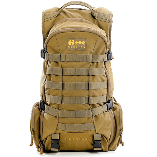 Geigerrig Tactical 1600 Hydration System 100oz Coyote by Gegerrig