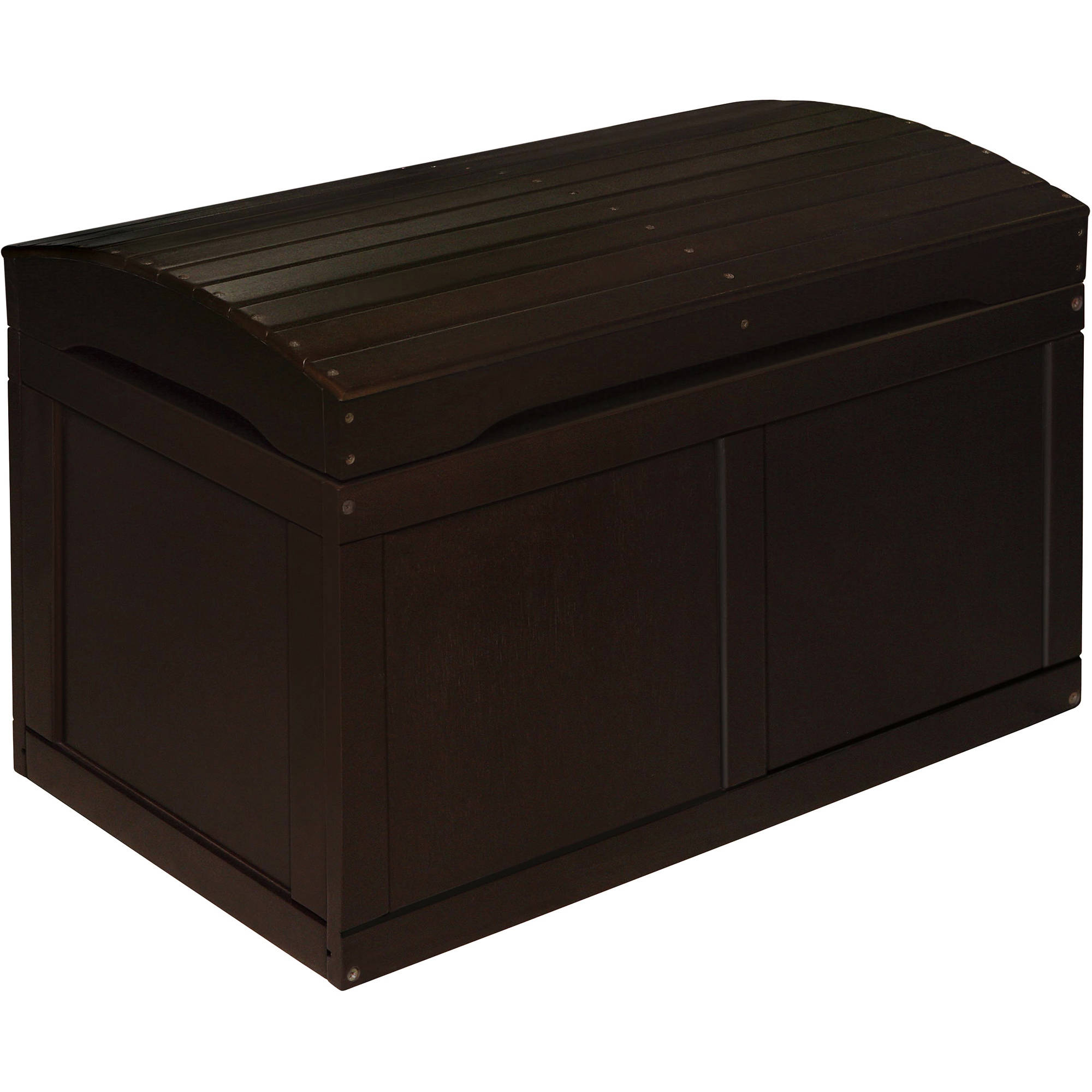 Badger Barrel Top Wood Toy Chest, Multiple Colors by Badger Basket