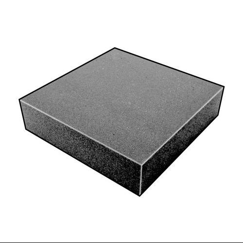 5GDT0 Foam Sheet,200100 Poly,Charcoal,1x36x36