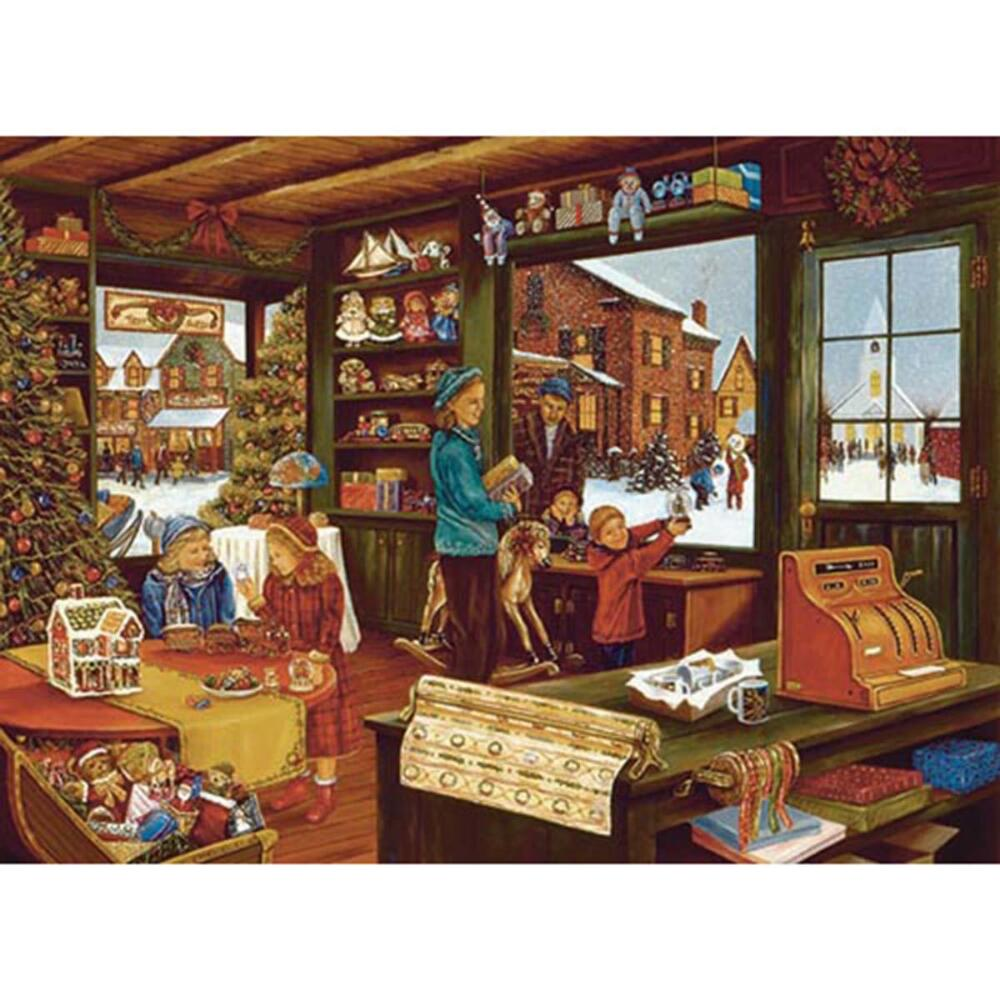 Outset Media 1000 Piece Last Shopping Day Puzzle
