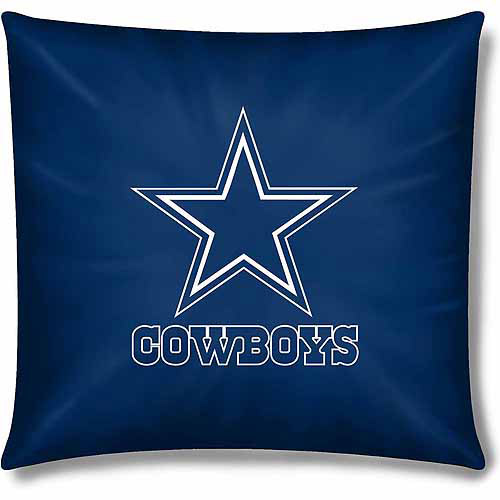 "Cowboys Official 15"" Toss Pillow"