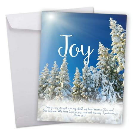 Best Christmas Devotional Ever.J6661hxsg Jumbo Merry Christmas Card Holiday Devotions