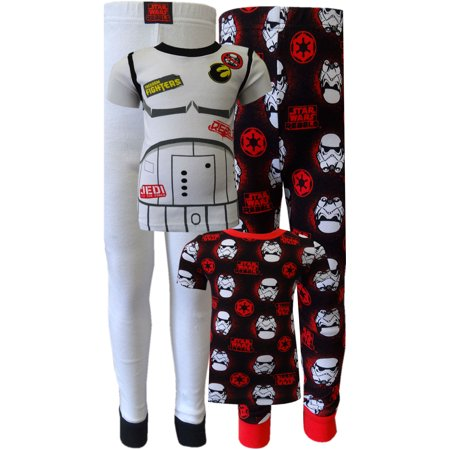 Star Wars Rebels Dress Like a Storm Trooper 4 Piece Pajamas](Storm Trooper Outfits)