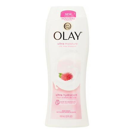 Olay Ultra Moisture Silk Tree Blossom Body Wash  22 Oz