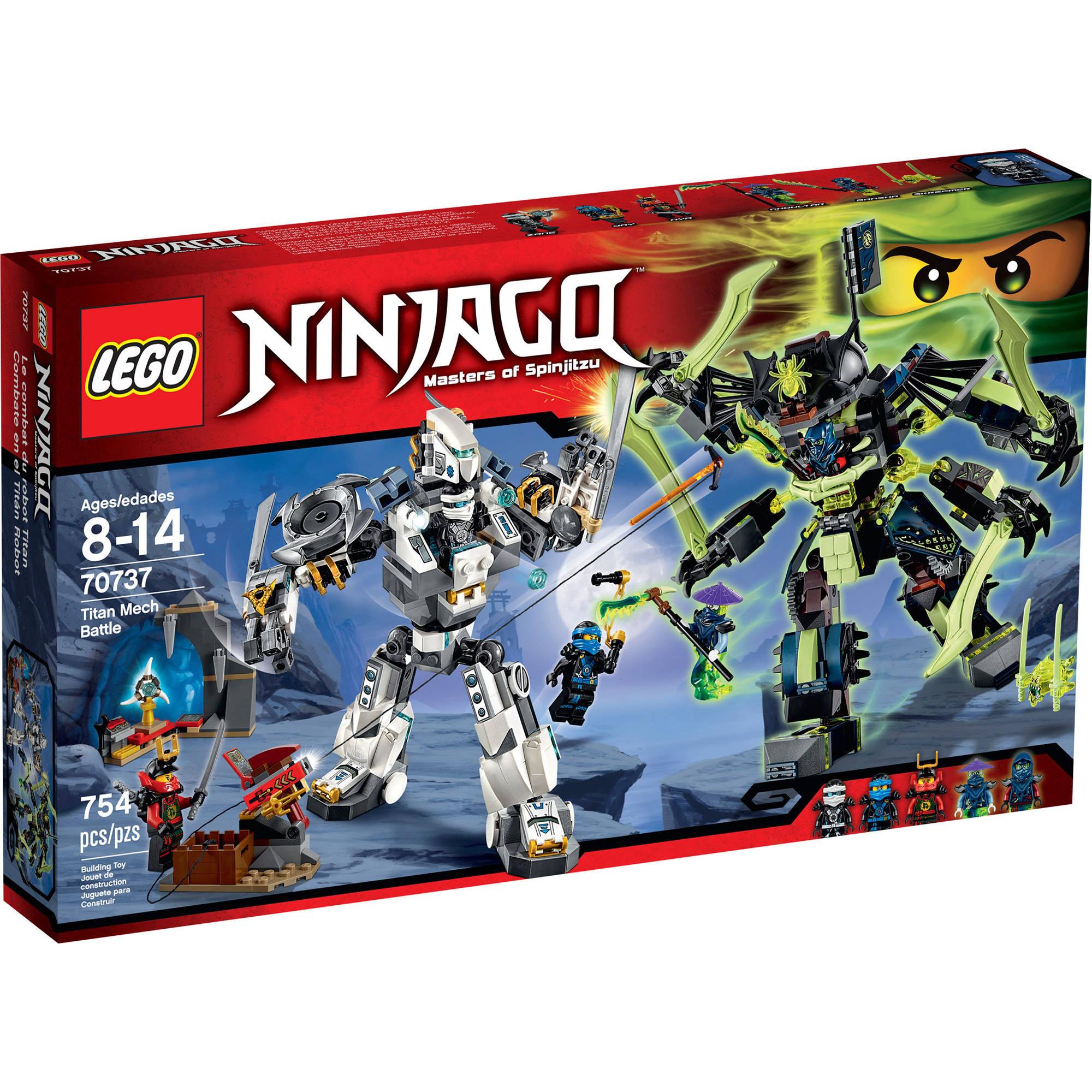 Lego Ninjago Titan Mech Battle, 70737