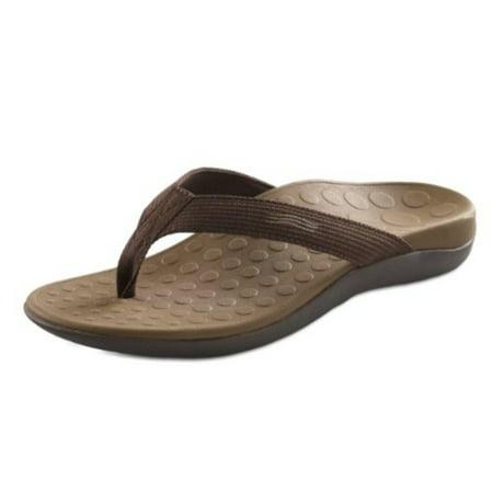 7678aca57f56 Orthaheel - Orthaheel Unisex Wave 2 Thong Unisex Chocolate Sandals ...