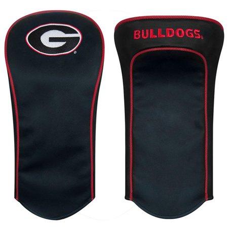 Team Effort Georgia Bulldogs Black Golf Driver Headcover - Georgia Bulldogs Driver Headcover