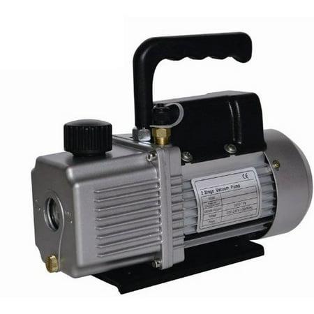 Vacuum Pump Air Conditioner Refrigeration 3.0 CFM 2 Stage 1/3 HP HVAC/R Service
