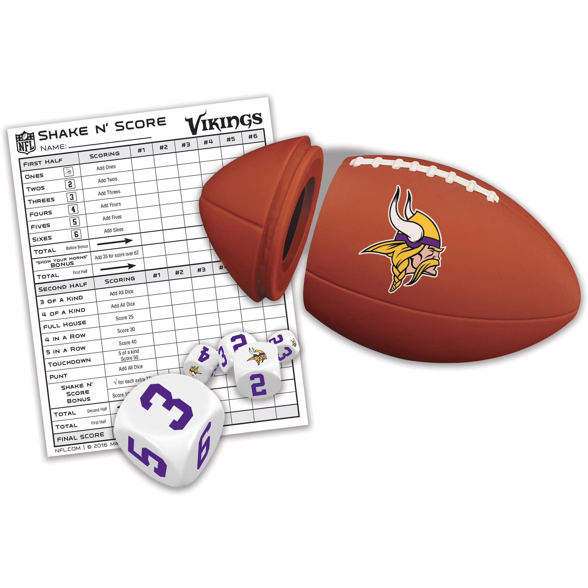 Masterpieces Minnesota Vikings Shake N Score by Generic