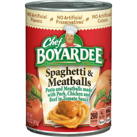 (Price/Case)Chef Boyardee 6414404322 Chef Boyardee Spaghetti And Meatballs 14.5 oz 24 Pack 14.5 oz