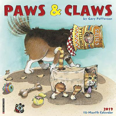 - Gary Patterson's Paws N Claws 2019 Wall Calendar (Other)