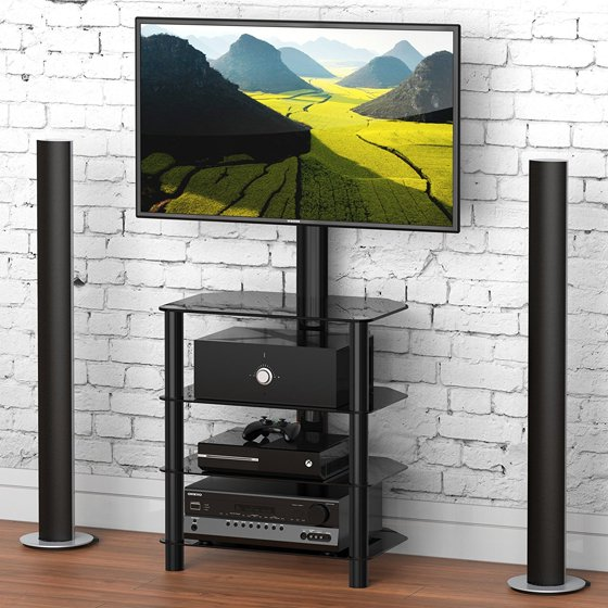 Fitueyes Av Shelf Tv Entertainment Center Stand With