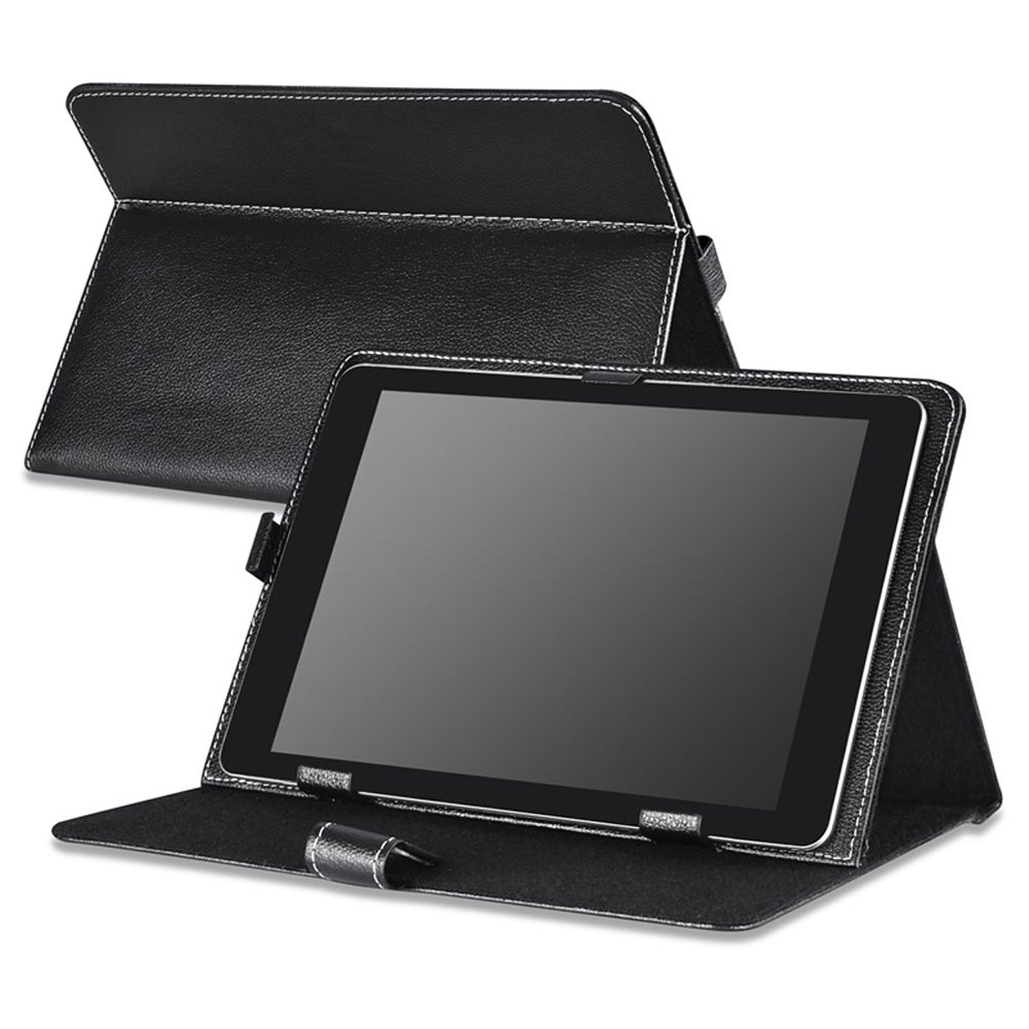Insten 10-Inch Universal Leather Case For RCA 10 Viking Pro Pro10 / Visual Land Prestige Elite 10QS Prime 10E / Ematic Genesis Prime XL eGlide XL Pro II Tablet