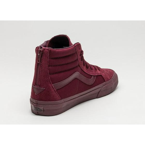 9829839eb3 VANS - Vans Sk8 Hi Reissue Zip Mono Port Royale Men s Skate Shoes Size 10 -  Walmart.com