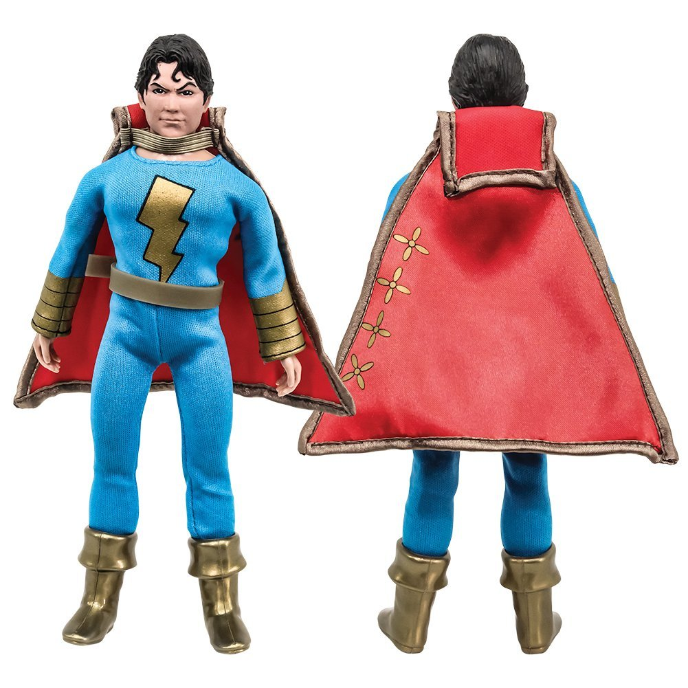 DC Comics Shazam Series Retro Figures: Shazam Jr. (Blue/Gold Variant) [Loose in Factory Bag]