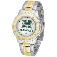 Suntime ST-CO3-HAW-COMPMG Hawaii Warriors-Competitor Two-Tone Watch