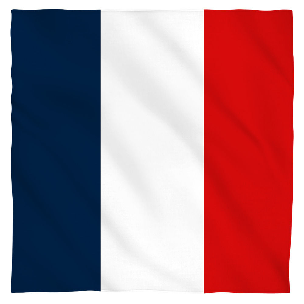 French Flag Bandana by Trevco