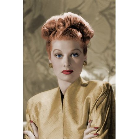 Lucille Ball Glamour Head Shot Poster High Quality 24X36