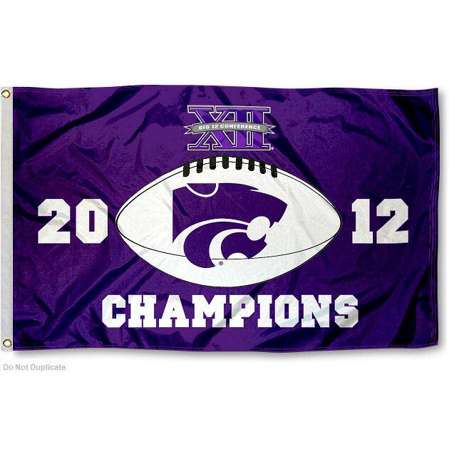 Kansas State Wildcats Big XII 3' x 5' Pole Flag