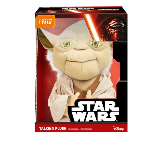 Children's Star Wars Deluxe Yoda Plush Doll - 15 Inches Tall