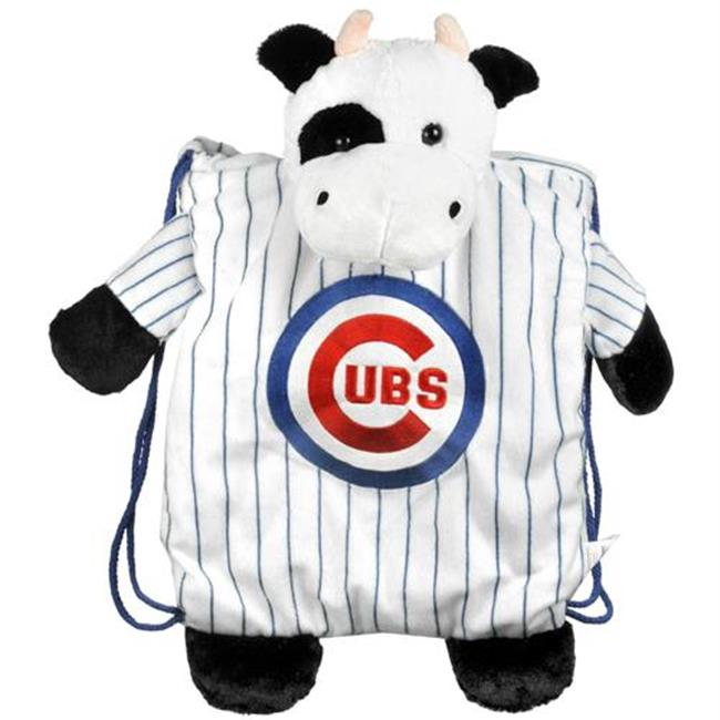 Forever Collectibles CSY-8686705549 Chicago Cubs MLB Plush Mascot Backpack Pal