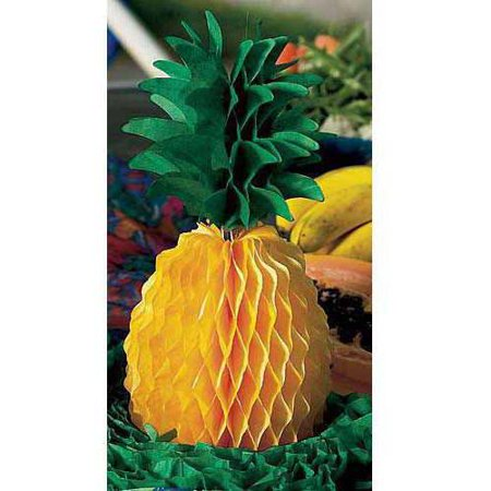 Tissue Pineapple Centerpiece, Set of 6](Pineapple Centerpiece Ideas)
