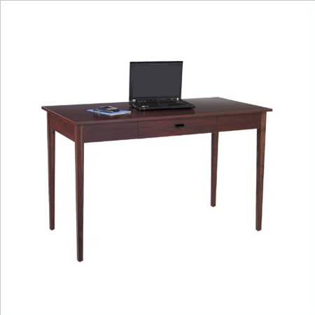 Safco Products 9446MH Apres Table Desk with Drawer Mahogany