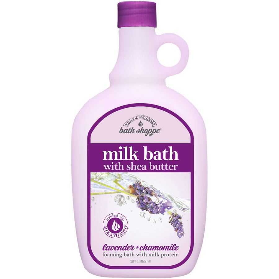Village Naturals Bath Shoppe Lavender and Chamomile Milk Bath, 28 fl oz