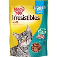Meow Mix Irresistibles Cat Treats, Soft (Various Sizes + Flavors)