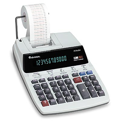 16015 1-Color Roller Printing Calculator UNV16015