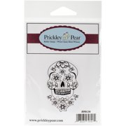 "Prickley Pear Cling Stamps 1.5""X2.75""-Dead Head"