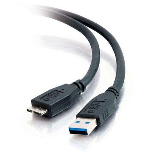 "Cables To Go Data Transfer Cable Adapter Type A Male Usb - Micro Type B Male Usb - 38.40"" - Black (54176)"